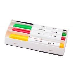Mazaki do tablic suchościeralnych + gąbka - IKEA